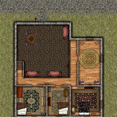 Assassin's Nest second floor